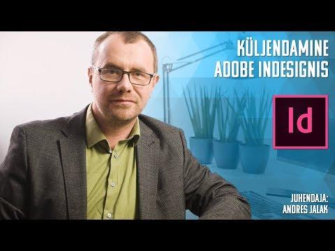 Adobe InDesign koolituse tutvustus