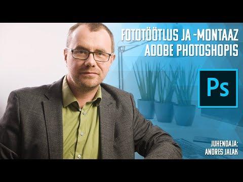 Adobe Photoshopi koolituse tutvustus