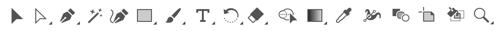 adobe illustratori koolitusel vaatame üle, milliseid tööriistu on tegelikult vaja vektorgraafikaga töötamiseks