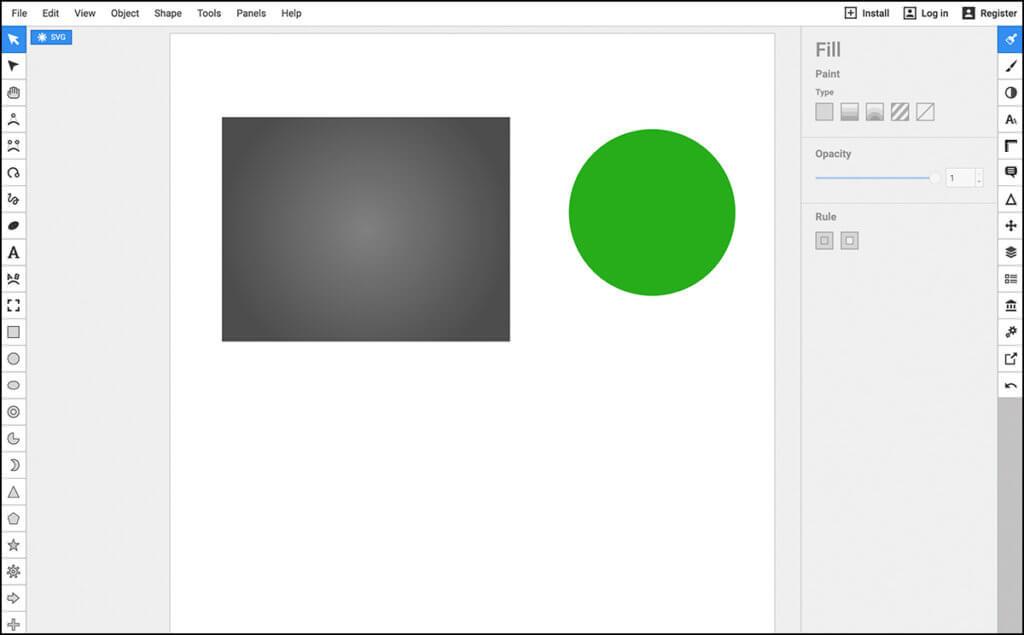 Boxy SVG on väga põhjalik veebipõhine vektorgraafika töötlemise keskkond